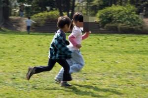 ゴールデンウィーク最終日は、親子でおもいっきり走りましょう(*≧∀≦*)